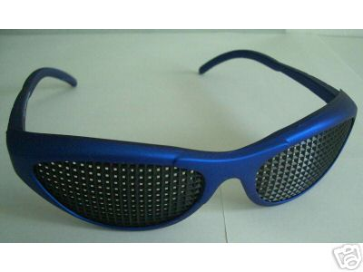 Can Pinhole Glasses Improve Vision